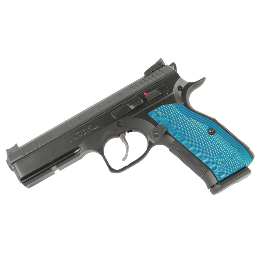 CZ Shadow 2, 9mm, Blue Grips