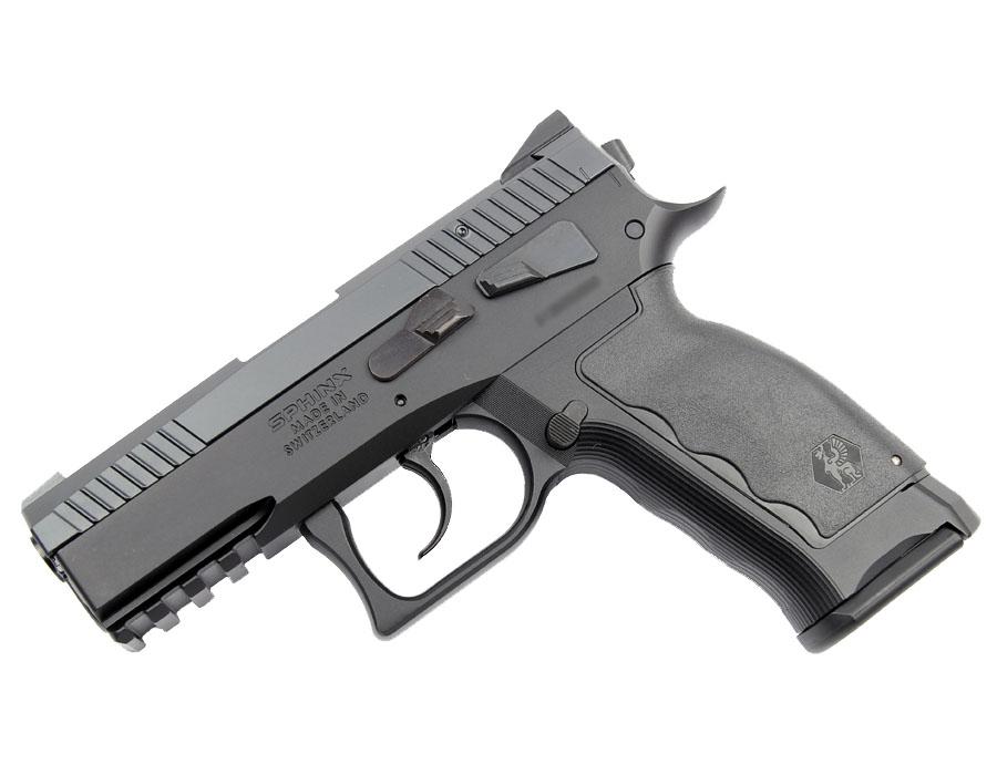 SPHINX SDP Compact, 9mm, Iron Sights, DA/SA