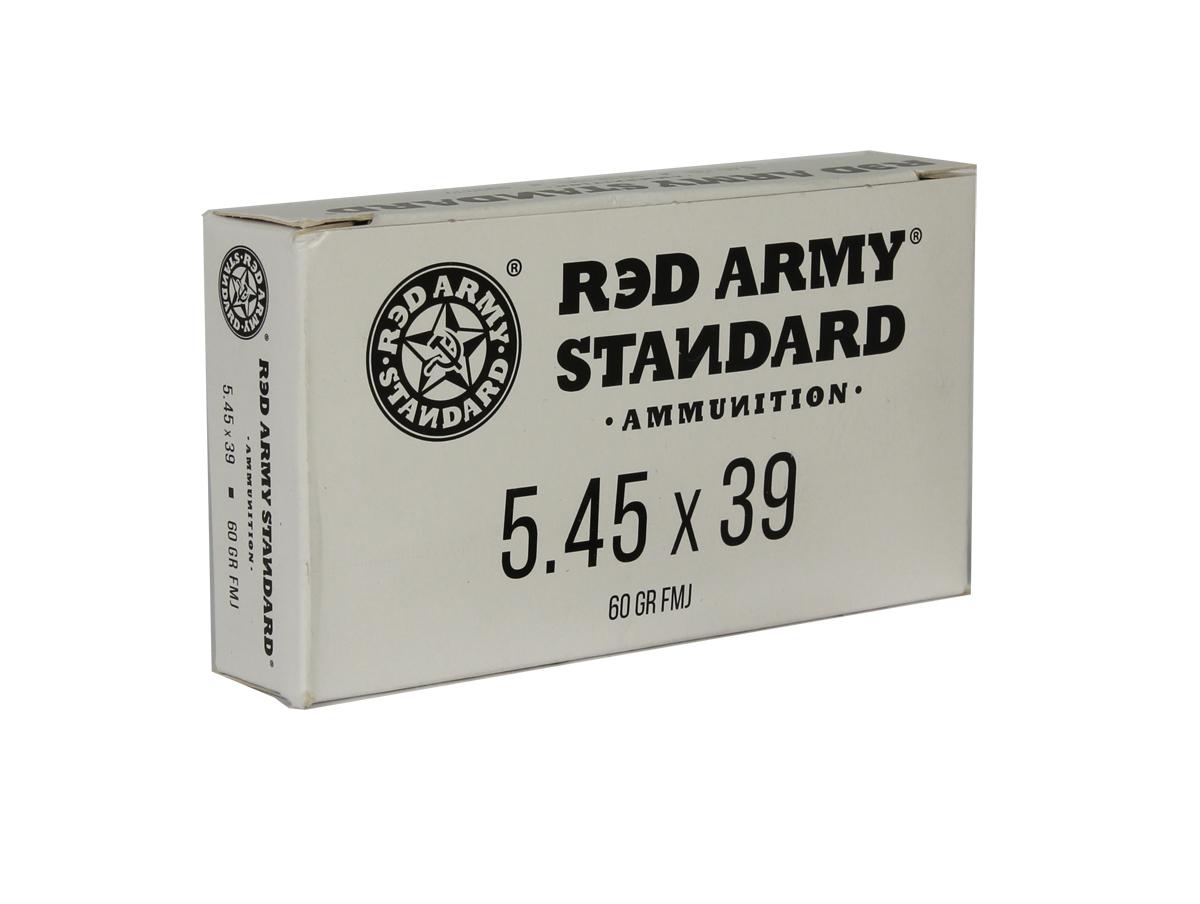 Red Army Standard 5.45x39mm 60 GR. FMJ - 20RD