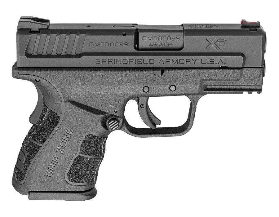Springfield Armory XD-MOD 2, .45ACP, 3