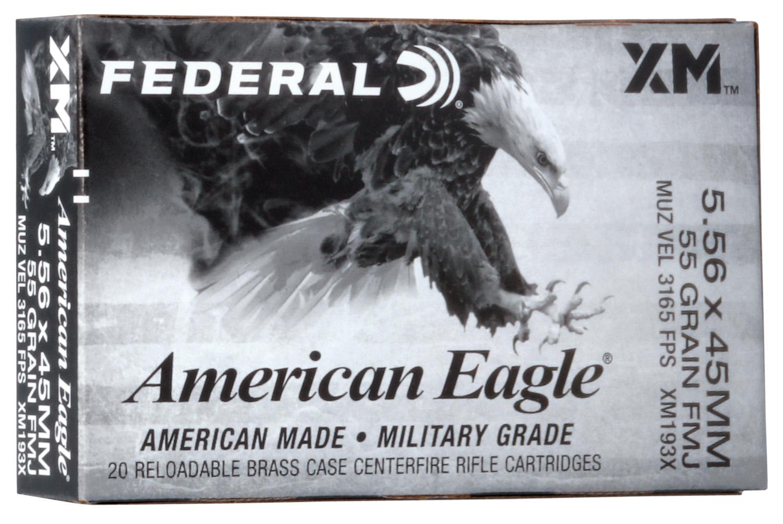 Federal XM193X 5.56mm, 20RD