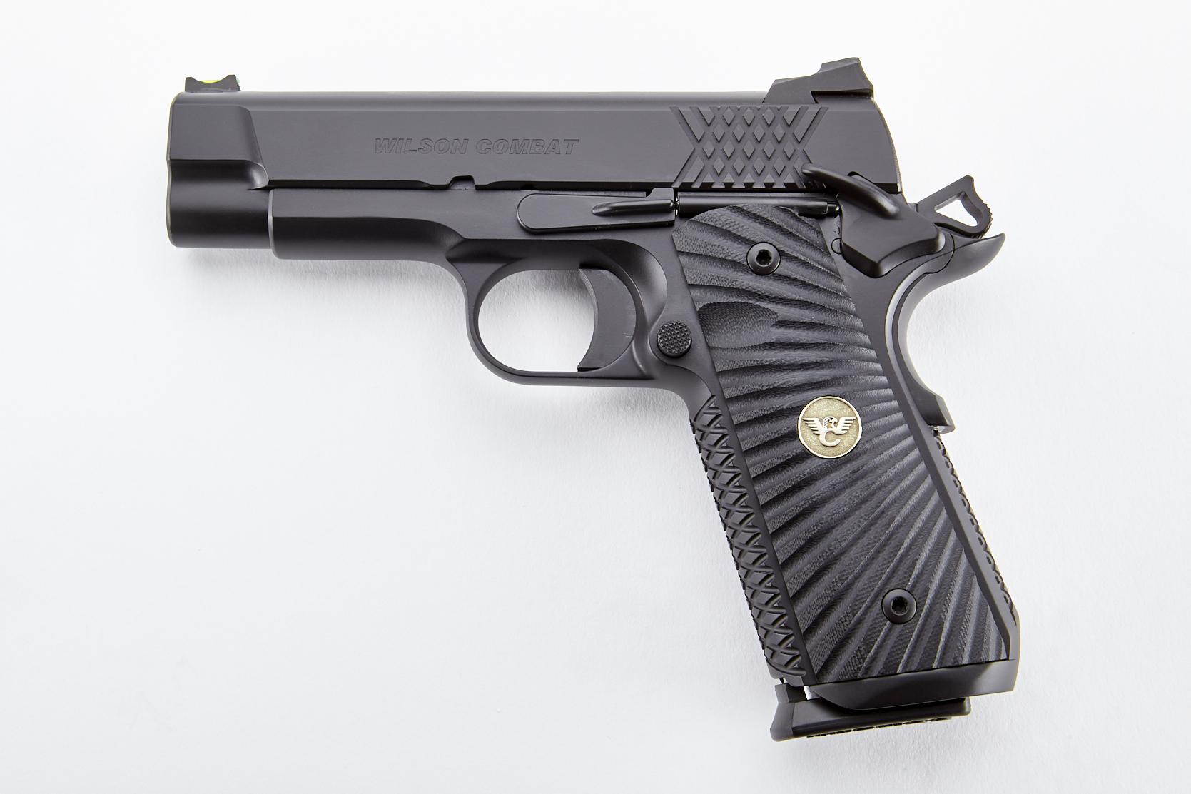 Wilson Combat X-TAC Elite, 45acp - Black