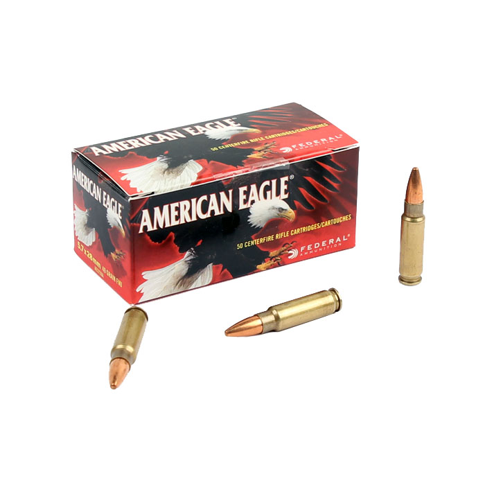 Federal American Eagle 5.7x28 40GR FMJ - 50RD