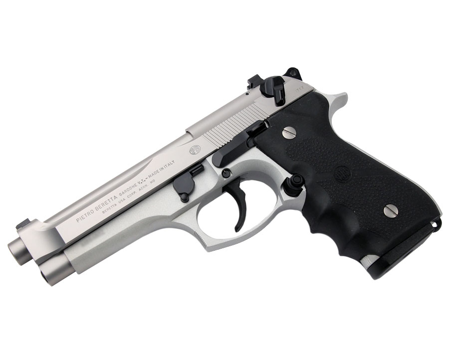 Beretta 92FS Brigadier Inox, Fixed Sights, 9mm