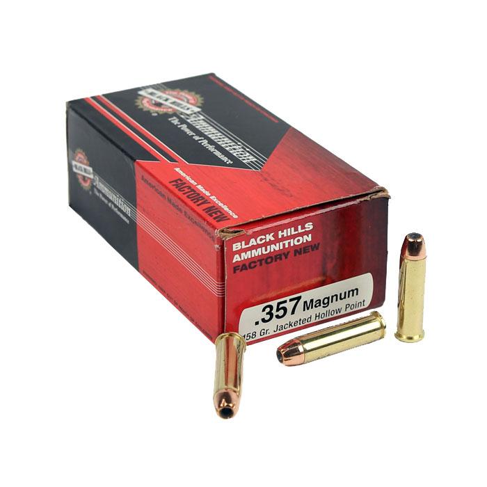 Black Hills .357 Magnum 158 GR. JHP - 50RD