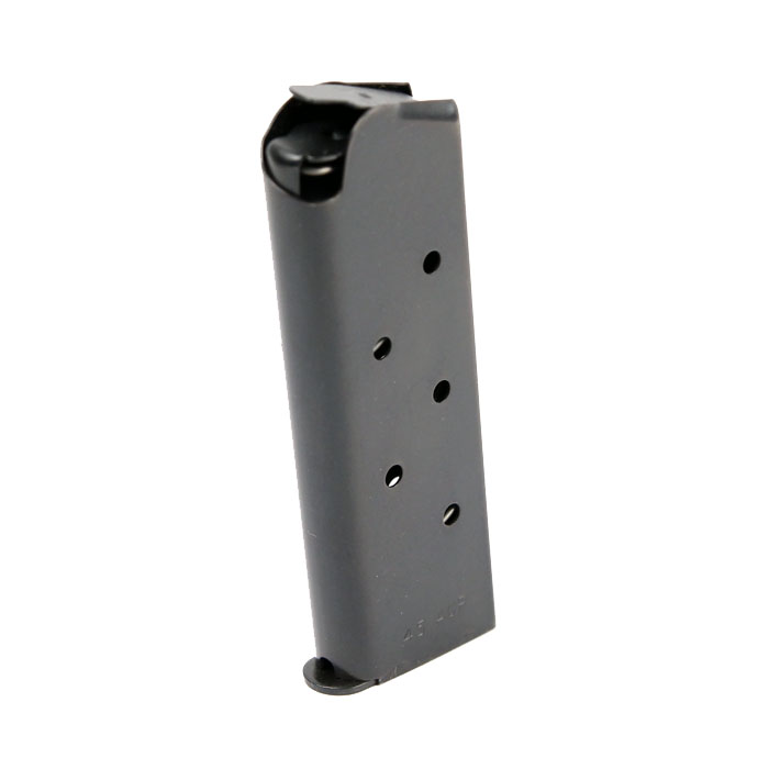 Check-Mate .45ACP, 7RD Compact, Blue, Hybrid - Officer's Size 1911 Magazine