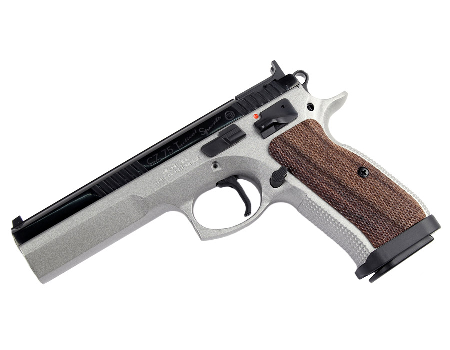 CZ 75 Tactical Sport, Fixed Sights, Two-Tone, 9mm , SAO
