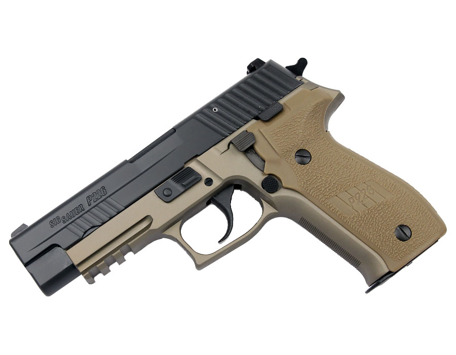 Sig Sauer P226R COMBAT 9mm, Nitron, Night Sights, DA/SA