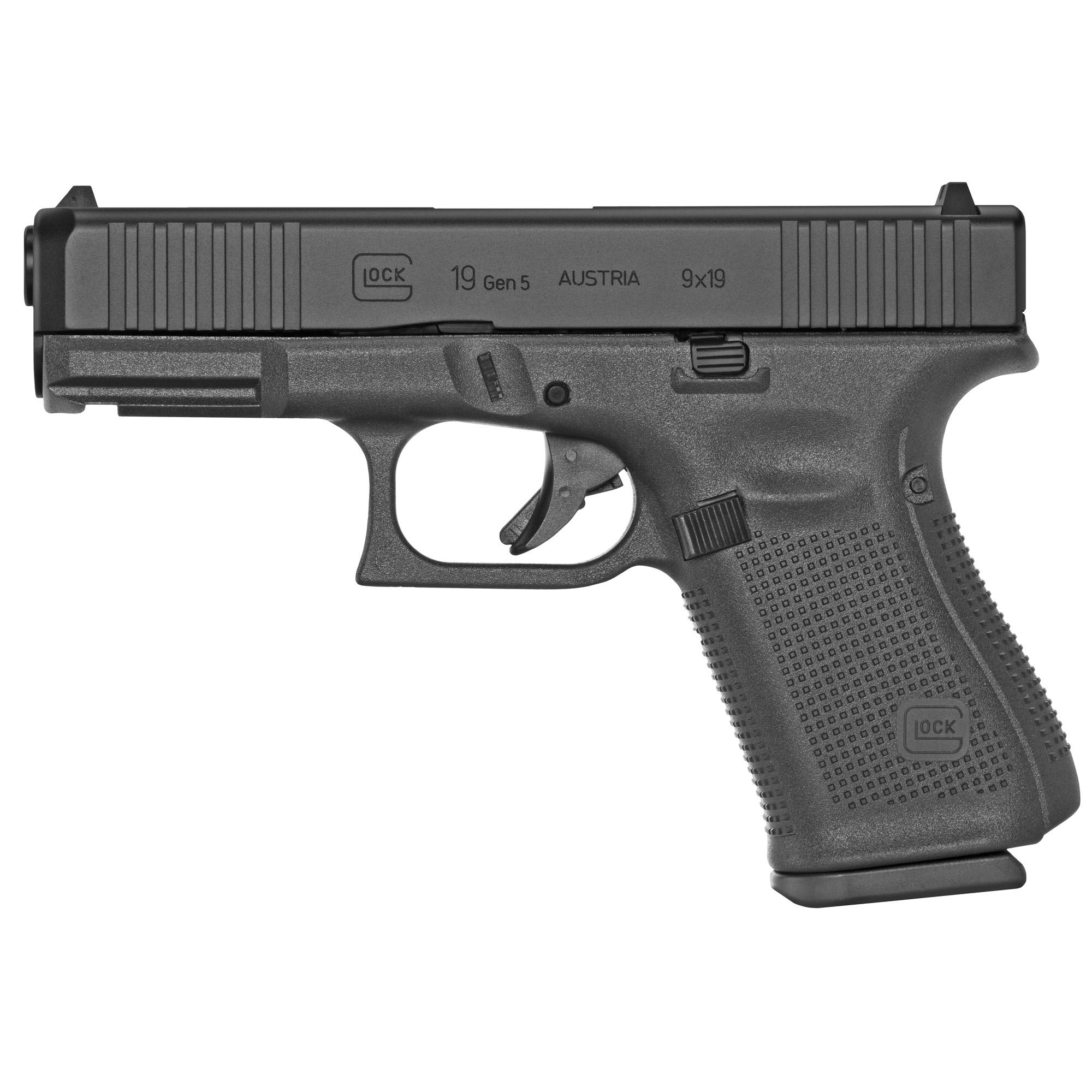 Glock UM1950333 G19 Gen5 9mm Luger 4.02