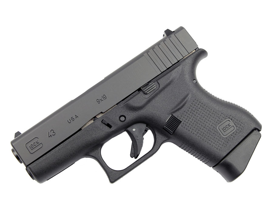 Glock 43 9mm - Black - U.S. Made