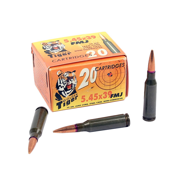 Golden Tiger 5.45x39mm 59 GR. FMJ - 20RD