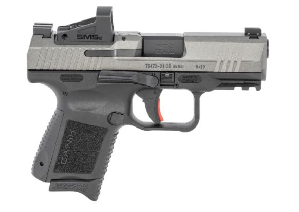 Canik HG5610TVN TP9 Elite Subcompact with Red Dot 9mm Luger 3.60