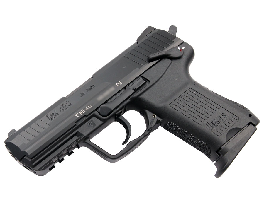 H&K HK45C Compact .45ACP, DA/SA, fixed sights