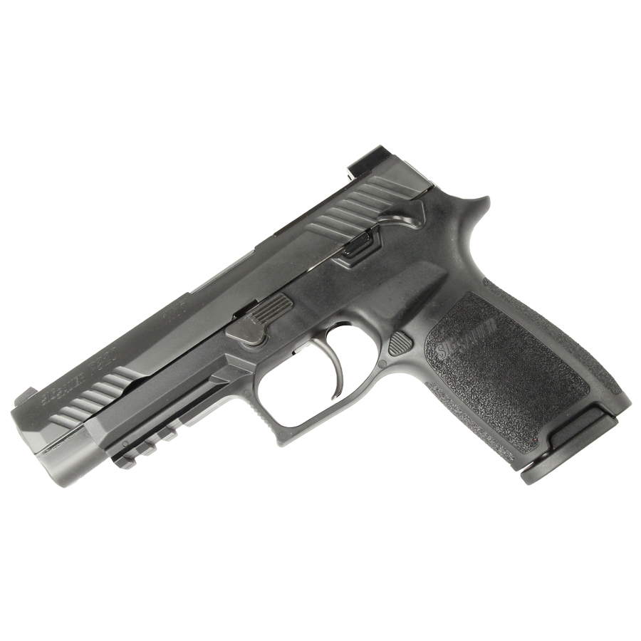 Sig Sauer P320 M17 Bravo, 9mm, Nitron, SigLite Night Sights, Black - IOP