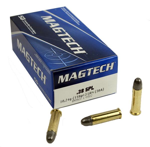 MagTech .38SPL 158GR LRN - 50RD