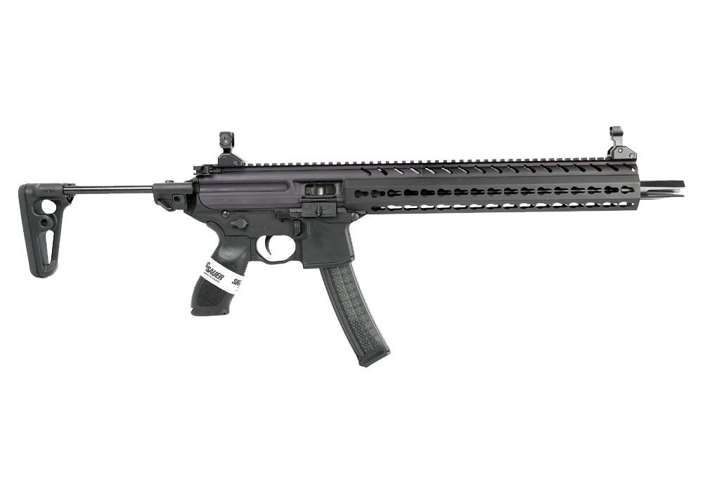 Sig Sauer MPX Carbine W/Telescopic Stock, 9mm