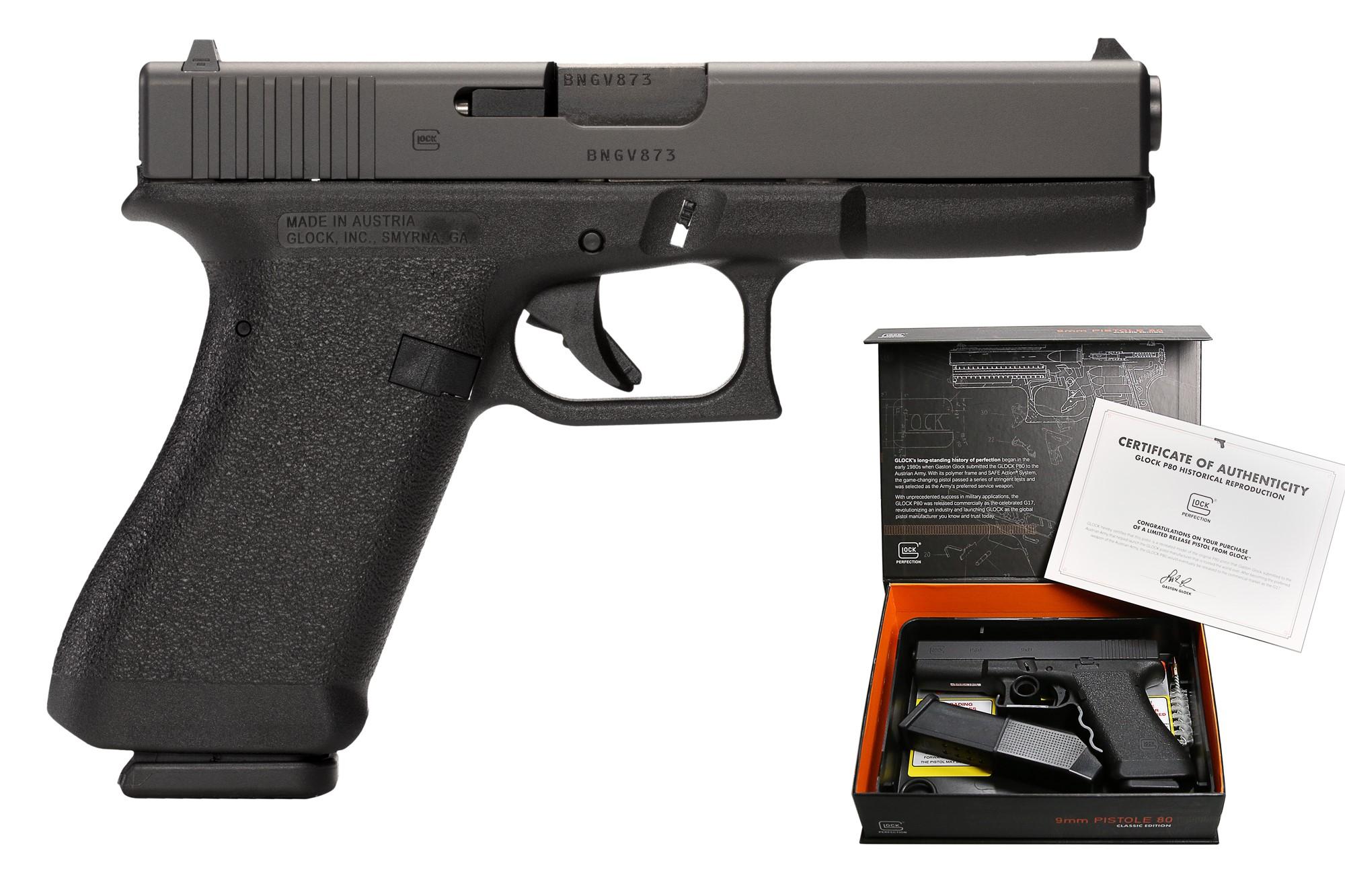 Glock 17 P80 GEN 1 9mm - Black
