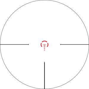Vortex Optics Strike Eagle AR-BDC Illuminated Reticle
