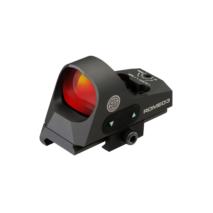 Sig Sauer Romeo3 1X25mm Reflex Sight - 3MOA Red Dot