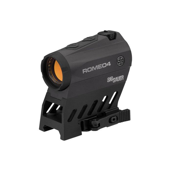 Sig Sauer Romeo4B 1X20mm Red Dot/Circle Dot - 2 MOA - QD Mount