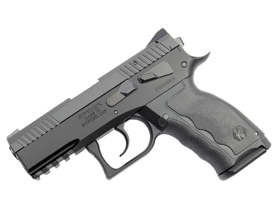 SPHINX SDP Compact Alpha, 9mm, Iron Sights, DA/SA