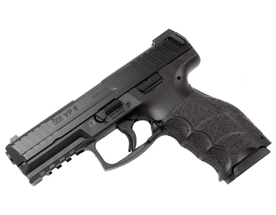 H&K VP9 LE 9mm Striker Fired, Tritium Night Sights, 10 RD Magazines
