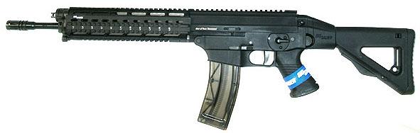 Sig Sauer 522 .22LR Rifle SWAT, Quad Rail