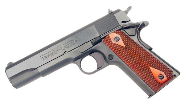 Colt M1991A1 Government Model, .38 Super, Blue