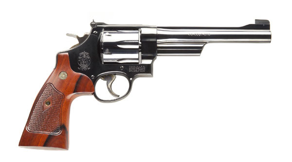 Smith & Wesson Model 25 Classic Six Shot, 6-1/2 inch .45 Colt - Blue