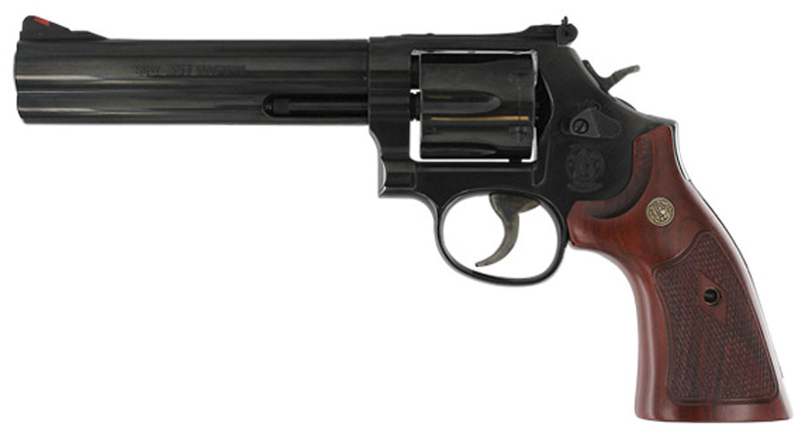 Smith & Wesson Model 586 Classic Six Shot, 6 inch .357 Magnum