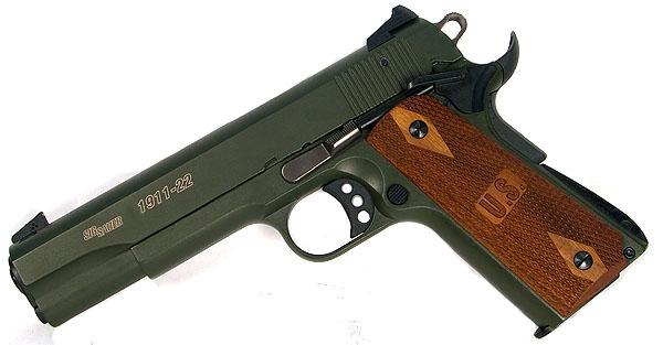 Sig Sauer 1911 .22LR OD Green
