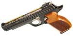 Sig Sauer P210 Legend 1st Edition, 9mm, Special Engraving, Gold Inlay