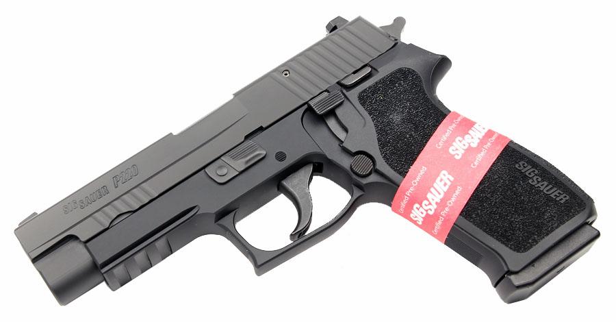 Sig Sauer P220R, Nitron, DA/SA, Night Sights, .45ACP- CPO