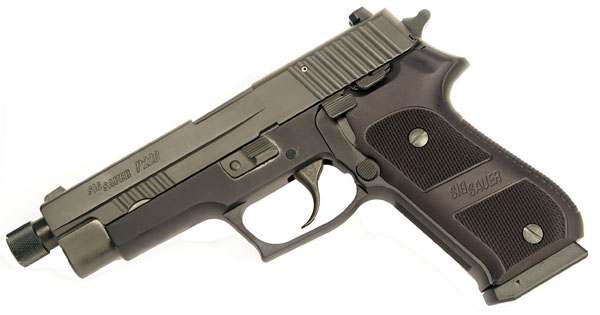 Sig Sauer P220 .45ACP Special Configuration, Night Sights, DA/SA, Non-Railed, Threaded BBL