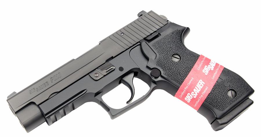 Sig Sauer P220R, Nitron, DAK, Night Sights, .45ACP- CPO