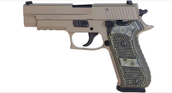 Sig Sauer P220R .45ACP, Scorpion, SigLite Night Sights, DA/SA, SRT