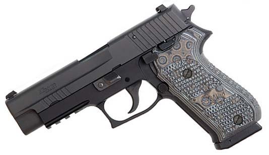 Sig Sauer P220R Extreme, Night Sights, G-10 Grips, SRT