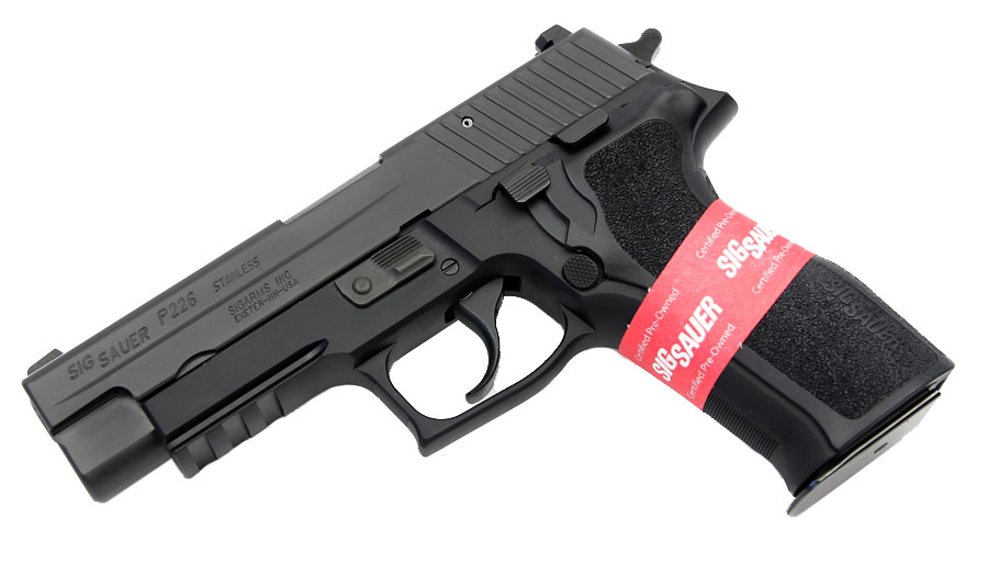 Sig Sauer P226R .357SIG - Certified Pre-Owned