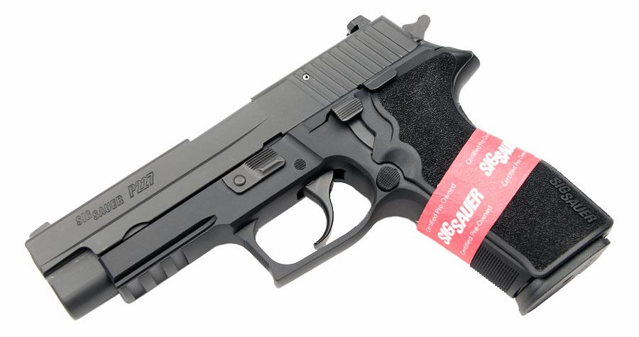 Sig Sauer P227R, Nitron, DA/SA, Night Sights, .45ACP - CPO