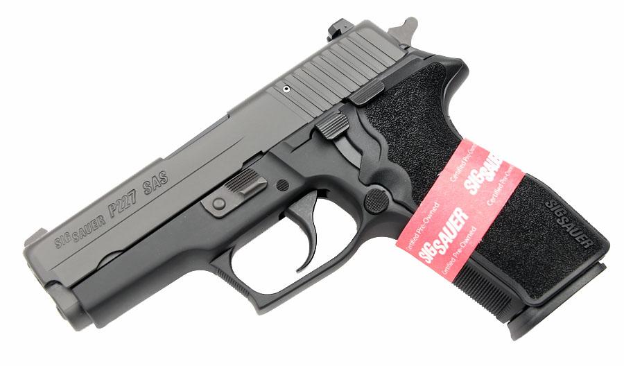 Sig Sauer P227 Carry SAS Gen 2, Nitron, DA/SA, Contrast Sights, .45ACP - CPO