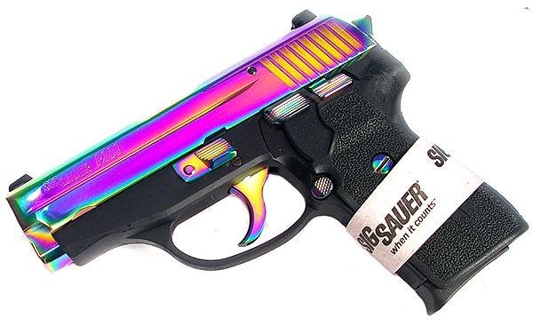 Sig Sauer P239 .40, Rainbow, Night Sights, DA/SA