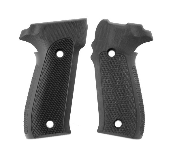 Hogue Extreme G10 Grips P226 - CHECKERED BLACK