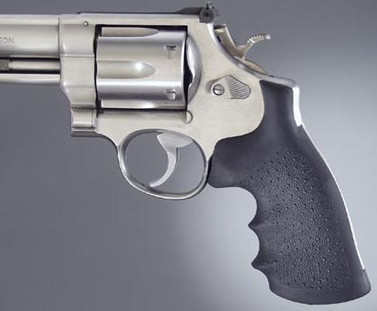 Hogue Rubber Monogrip for Smith-Wesson N Frame Square Butt