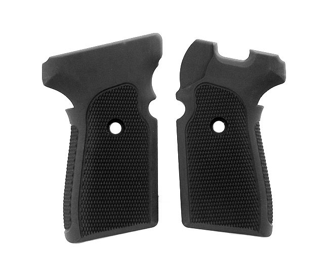 Hogue Extreme Aluminum Grips P239 - CHECKERED MATTE BLACK