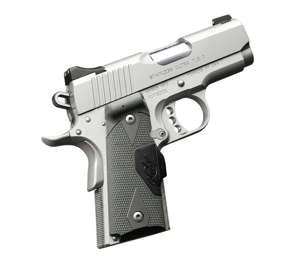 Kimber Stainless Ultra TLE II .45ACP, Crimson Trace Grips
