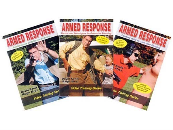 Armed Response - Defensive Shooting - THREE DVD SET