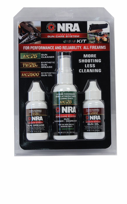 Mil-Comm Three Step Gun Care Kit