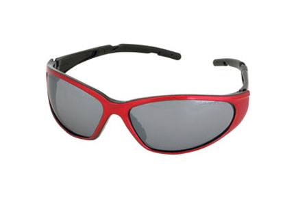 Champion Shooting Glasses, Ballistic Red/Grey