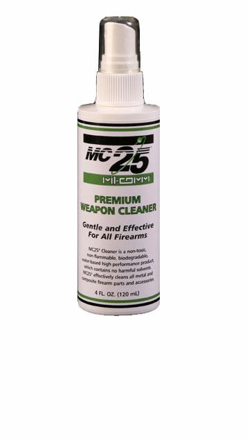 Mil-Comm MC25 Cleaner & Degreaser  4 oz pump spray