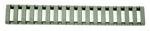 Ergo 18 Slot Ladder LowPro Rail Covers - 3PK - OD GREEN